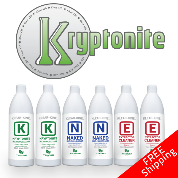 kryptonite super sample bong cleaners